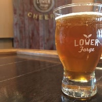 Photo taken at Lower Forge Brewery & Distillery by Sean G. on 6/1/2017