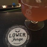 Photo taken at Lower Forge Brewery & Distillery by Sean G. on 7/20/2017