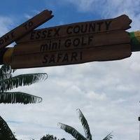 Photo taken at Essex County Mini Golf Safari by Marissa S. on 8/23/2014