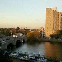 Photo taken at DoubleTree Suites by Hilton Hotel Boston - Cambridge by Juliana D. on 10/18/2012