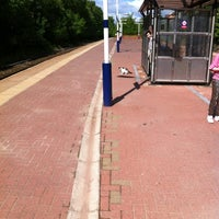 Photo taken at Moorside Railway Station (MSD) by Lindsay R. on 6/1/2013