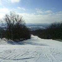 Photo taken at Devil's Head Ski Resort by Michael (Kuba) R. on 1/13/2013