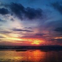 Photo taken at Legian Beach by Anna Benfika on 1/16/2013