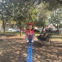 Photo taken at Parque Mariano Escobedo by Jeanette D. on 2/6/2017