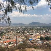 Photo taken at Capilla del Cerro de San Miguel by Braulio O. on 4/14/2017