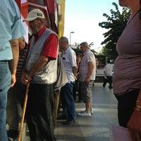 Photo taken at Ziraat Bankası by Sesil Ö. on 7/25/2013