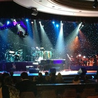 Photo taken at The Theatre at Harrah's New Orleans Casino by Mitchell P. on 5/1/2013