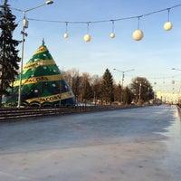 Photo taken at Каток ЦПКиО им. Горького by Polina N. on 3/10/2016