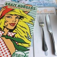 Photo taken at Kraze Burgers by Sangsu J. on 1/28/2013