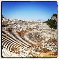 9/16/2012 tarihinde Seniha T.ziyaretçi tarafından Termessos'de çekilen fotoğraf