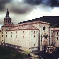 Photo taken at Monasterio De Yuso by Oscar C. on 5/16/2013