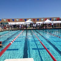 Photo taken at Ukiah High School Pool by Craig W. on 7/28/2013