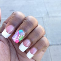 """Photo taken at Tip """"O"""" Nails by Dalecia F. on 2/23/2013"""