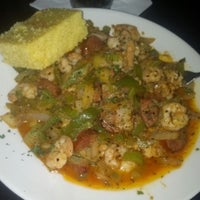 Photo taken at Boudreaux's Louisiana Kitchen by Hersh on 5/23/2013