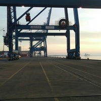 Photo taken at North Charleston Terminal State Ports by E.D. C. on 1/26/2016