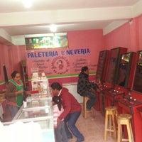 Photo taken at La Michoacana by Jocelyn A. on 1/21/2013