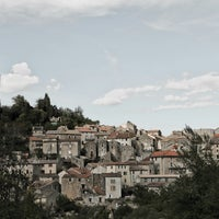 Photo taken at Olargues by Tracy L. on 7/6/2013