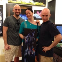 Photo taken at Craig Tracy's PaintedAlive Body Painting Gallery by Melissa C. on 4/30/2014