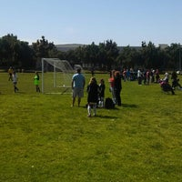 Photo taken at Alameda Point Fields by Larry B. on 4/27/2013