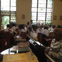 Photo taken at Holy Family Catholic Church by Jamarius J. on 5/10/2013