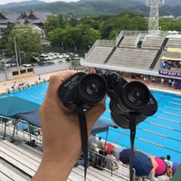 Photo taken at 天理プール by sa-ry (. on 7/4/2015