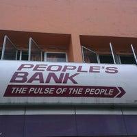 Photo taken at peoples bank by Yohan K. on 6/18/2013