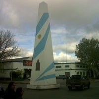 Photo taken at Obelisco by Marcos F. on 10/6/2012