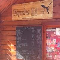 Photo taken at Fapuma - Lángos / Palacsinta by Tamas C. on 9/28/2013
