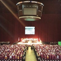 Photo taken at Reed Arena by Jennifer L. on 6/1/2013