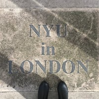 Photo taken at NYU in London Student Centre by Allie B. on 1/3/2018