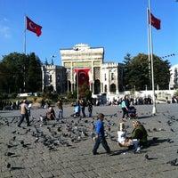 10/26/2012 tarihinde Hasan Y.ziyaretçi tarafından Beyazıt Meydanı'de çekilen fotoğraf