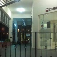 Photo taken at CIMB Bank by Ungku H. on 12/26/2012