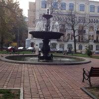 Снимок сделан в Площадь Ивана Франко пользователем Ksu L. 10/21/2012