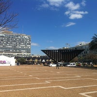 Photo taken at Rabin Square by Anna F. on 3/6/2013