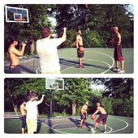 Photo taken at Piedmont Park - Basketball Courts by Kris V. on 6/20/2013