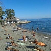 9/15/2012 tarihinde Marco G.ziyaretçi tarafından Playa de Baños del Carmen'de çekilen fotoğraf