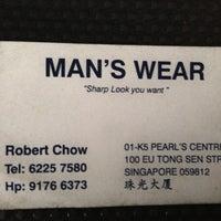 Photo taken at Man's Wear by Laremy L. on 9/13/2013