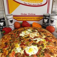Photo taken at Pat's Pizzeria by Peter A. on 4/11/2013