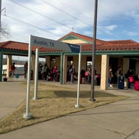 Photo taken at Austin Train Station - Amtrak (AUS) by Stephen S. on 1/11/2013