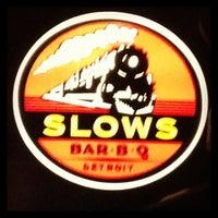 Photo taken at Slows Bar-B-Q by Rhonda N. on 12/31/2012