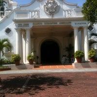 Photo taken at St. Jerome Emiliani & Sta. Susana Parish by KristiNa S. on 4/28/2013