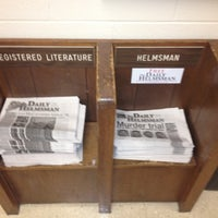 Photo taken at Meeman Journalism Building by Carrie B. on 9/28/2012
