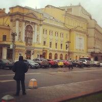 Снимок сделан в Российский академический молодёжный театр (РАМТ) пользователем Anton B. 10/6/2012