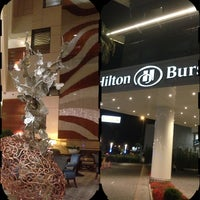 8/4/2013 tarihinde sedat k.ziyaretçi tarafından Hilton Bursa Convention Center & Spa'de çekilen fotoğraf