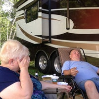 Photo taken at Shore Hills Campground by Craig M. on 7/6/2013