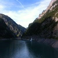 Photo taken at Gigerwald Staumauer by Roland W. on 9/23/2012