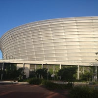 Photo taken at Cape Town Stadium by Svetlana G. on 12/28/2012