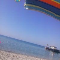 Photo taken at Nea Kallikratia by Anita V. on 6/14/2015