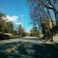 Photo taken at Intersection: First  St & Northwest Blvd by Richard C. on 3/21/2013