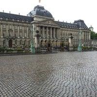 Photo taken at Paleizenplein / Place des Palais by Martin H. on 5/14/2013